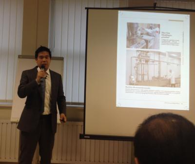Dr Chen és Eric Chen találkozó